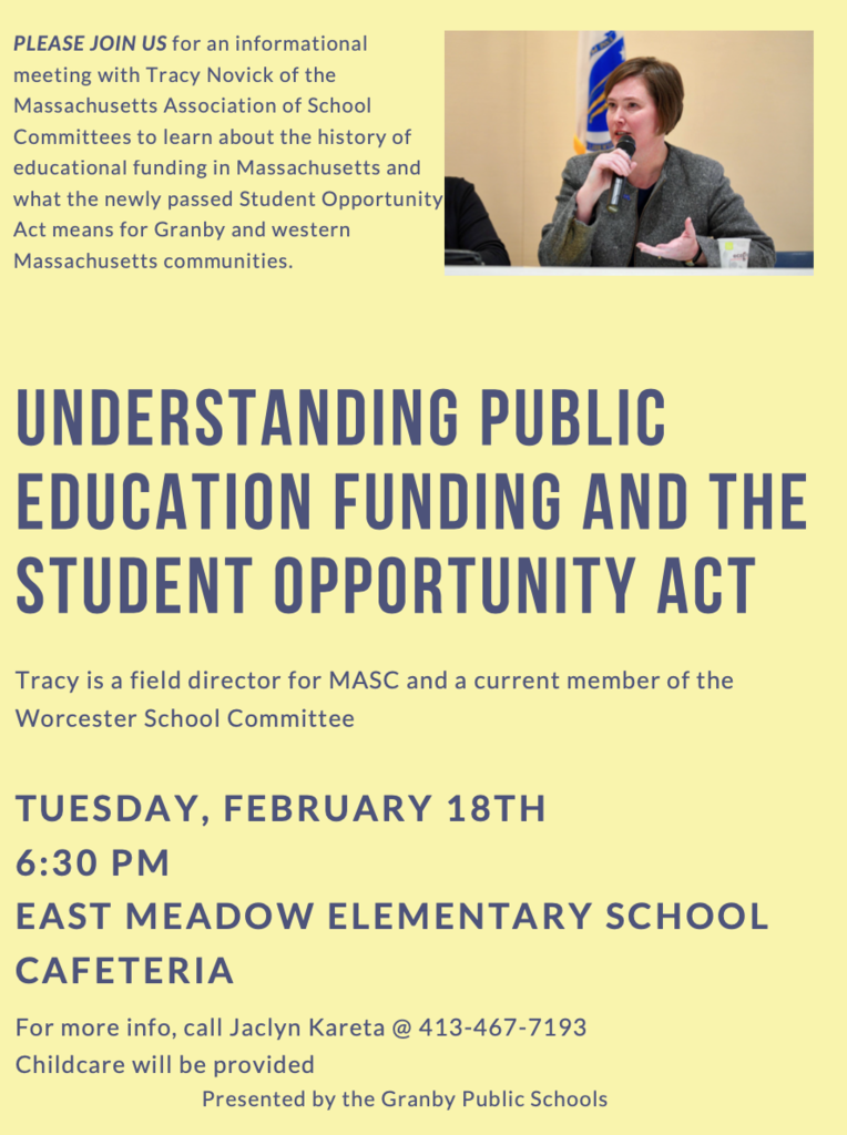 Public Education Funding and the Student Opportunity Act