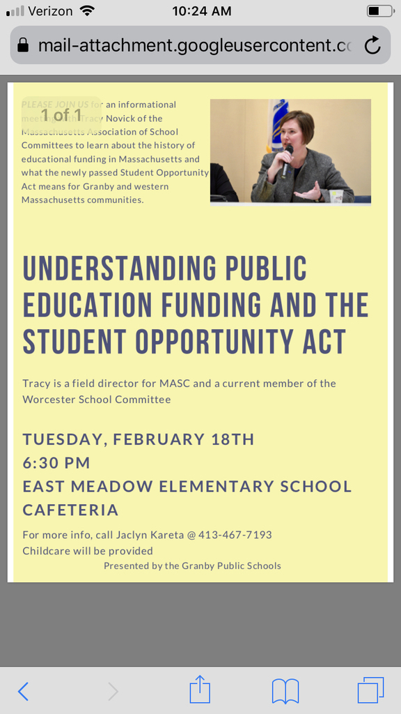 Student Opportunity Act